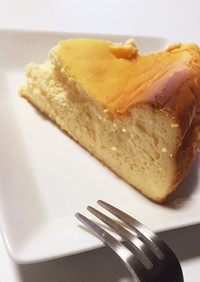 混ぜるだけで超簡単♡チーズケーキ