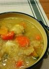 風邪に効くものいっぱい☆蓮根スープ