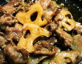 簡単♬常備菜に☆レンコンと豚肉のきんぴら