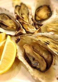 殻付き牡蠣のフライパン蒸し☆
