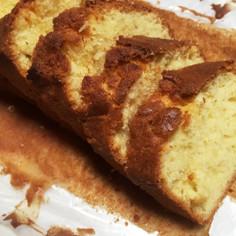 マーガリンで簡単パウンドケーキ