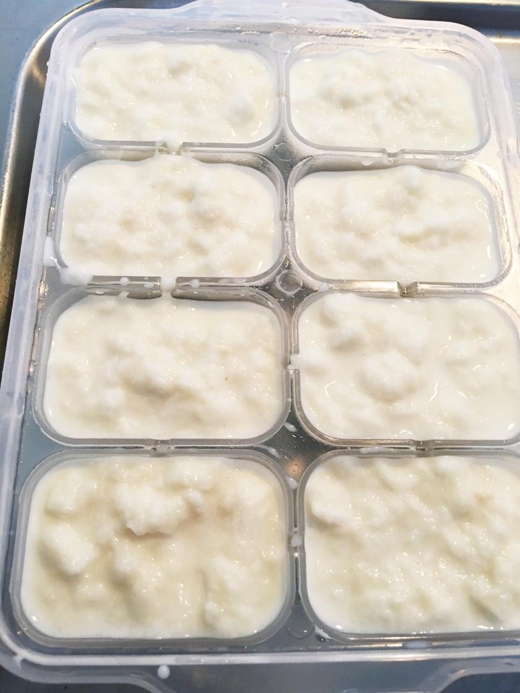 離乳食 初期〜 ミルクパン粥
