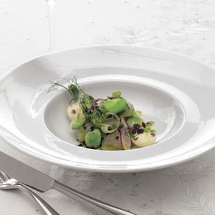 桜鯛のカルパッチョと春野菜のヴァポーレ
