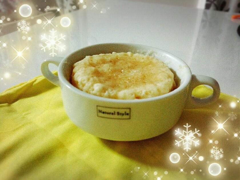 レンジで作る♥ハチミツココナッツ蒸しパン