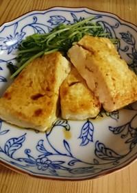 ヨシダソース使用 豆腐のテリヤキステーキ