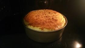 焼き立てフワフワ スフレチーズケーキ