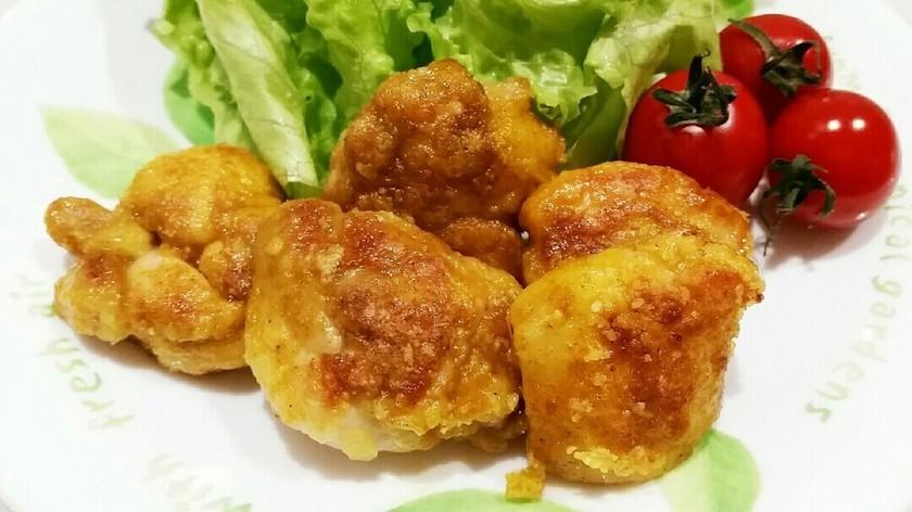 簡単❤鶏もも肉のカレーチーズ焼き♪