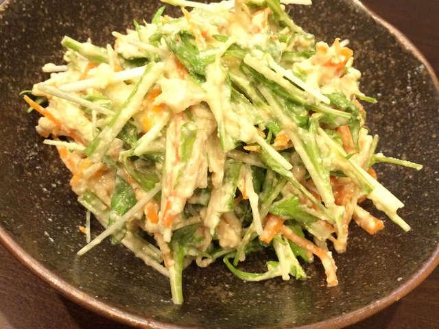 水菜 白和え
