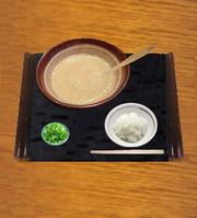 とろろ汁(アサリ風味)の写真