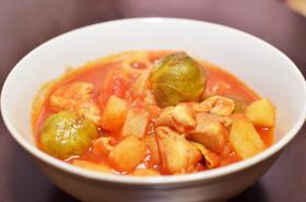 簡単!美味しい芽キャベツトマトスープ
