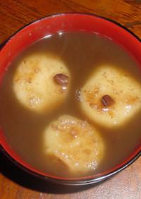 芋団子のおしるこ