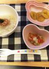 離乳食 中期〜後期 納豆おろし素麺