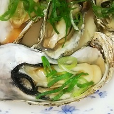 殻付き牡蠣 レンジ調理