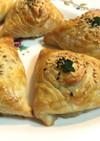 ウズベキスタン♡オゾタさんの牛肉サモサ