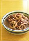 ご飯に合う★イカの味噌バター煮込み