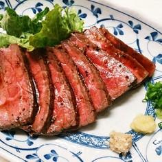牛肉のたたき~フライパンで~