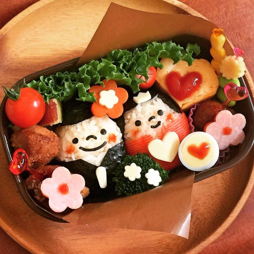 簡単♡可愛い♡ひな祭り弁当♡キャラ弁☆