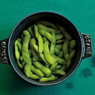 枝豆の塩蒸し