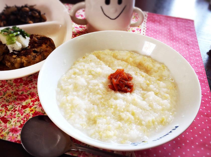 綺麗痩せレシピ.1♡発芽玄米のお粥