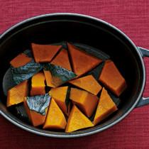 かぼちゃの塩酒蒸し