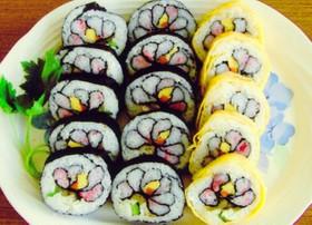 ひな祭りやお祝いに♪花寿司