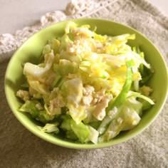 豆腐とキャベツの塩サラダ♡