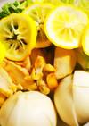 *低カロリー鳥と野菜の柚子鍋*