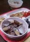 完熟黒オリーブとあさりの炊き込みご飯