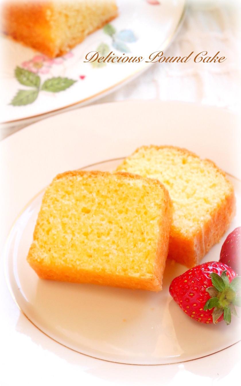 配合が覚えやすい★基本のパウンドケーキ★