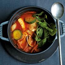 豆腐とキムチのスンドゥブ風鍋