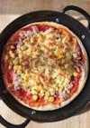 スキレットで簡単‼️10分ピザ