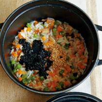 韓国風野菜のおかゆ