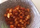 大豆を食べよう!大豆と人参の甘辛揚げ