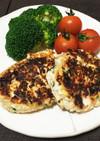 妊婦ご飯★粉いらず!鮭と豆腐の簡単バーグ