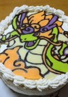 妖怪ウォッチのリュウジンのケーキ
