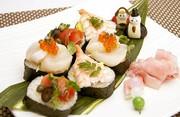 カナッペ寿司の写真