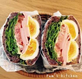 ボリュームサンドイッチ!