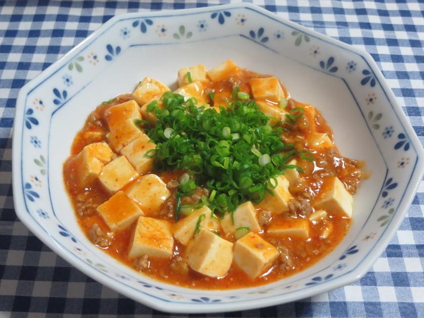 簡単一人分の麻婆豆腐