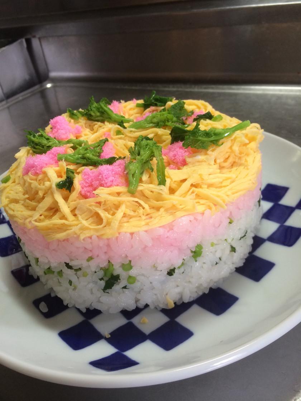 ひな祭り☆ケーキ寿司