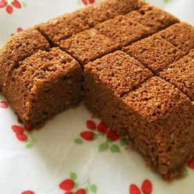低糖質・おからココア蒸しパン