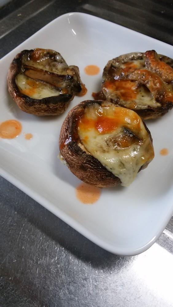 簡単☆マッシュルームのチーズ焼き