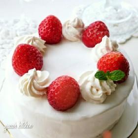 卵1こで~✾苺のショートケーキ