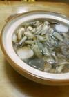 一人鍋で芋煮会