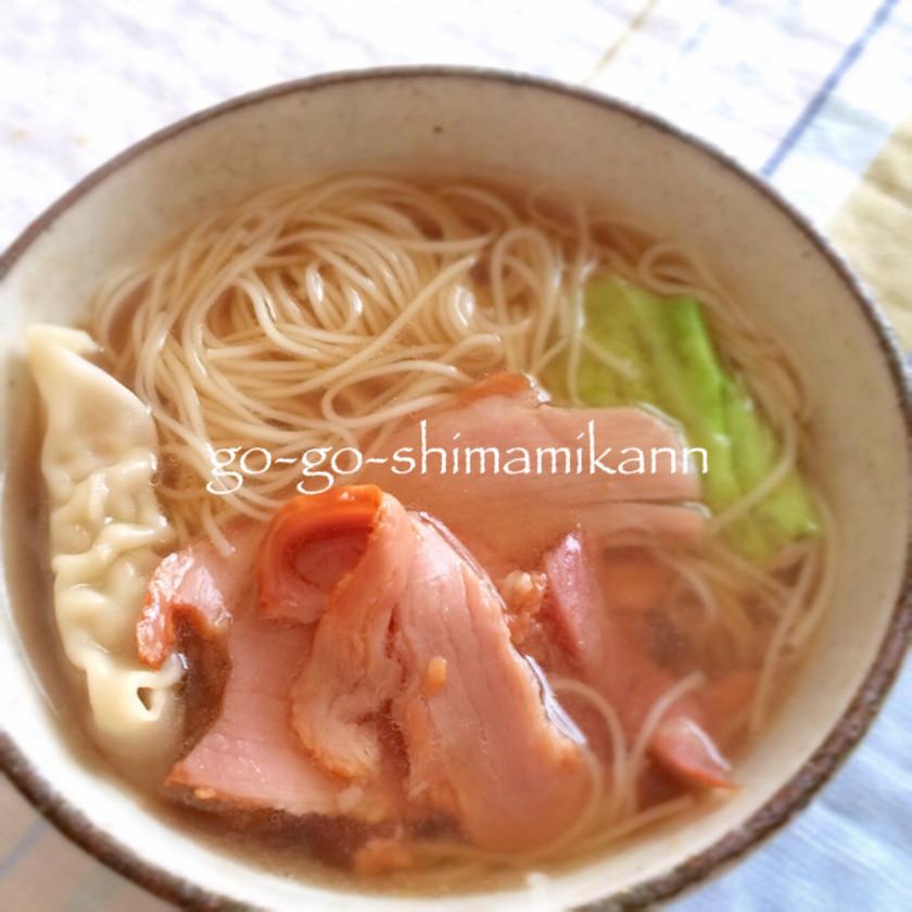 ✿ちゃんどら  冬の素麺