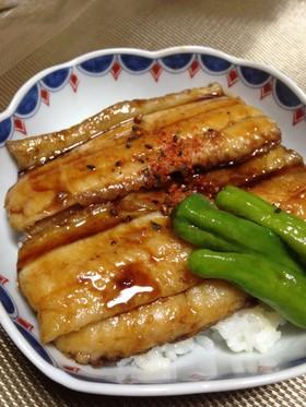 フライパンで簡単♪太刀魚の蒲焼