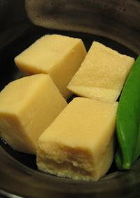 電子レンジで☆高野豆腐の煮物