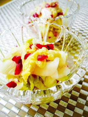 簡単小鉢☆白菜と梅の和え物 お弁当も