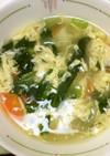 洋風かき玉スープ