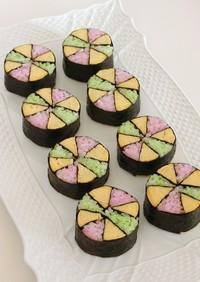 手まりの飾り巻き寿司*おひな祭り・お花見