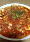 【簡単】ささみとたまねぎのトマト煮